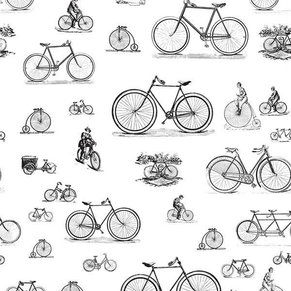 Samolepící tapeta Bikes, 90x300 cm