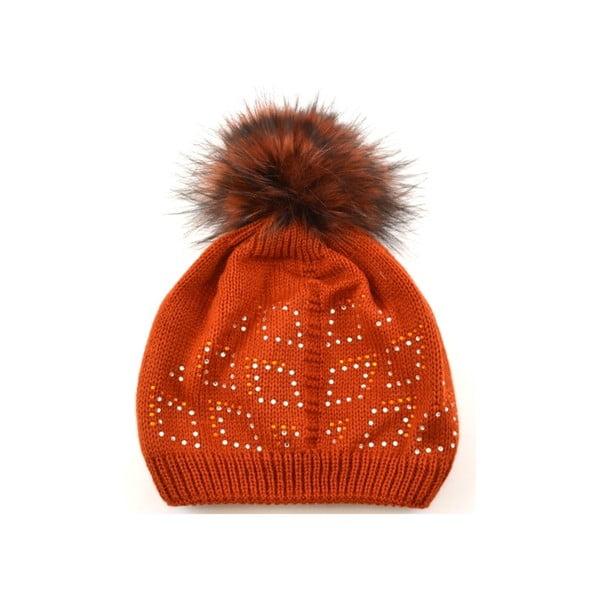 Dámská čepice Blysk Orange