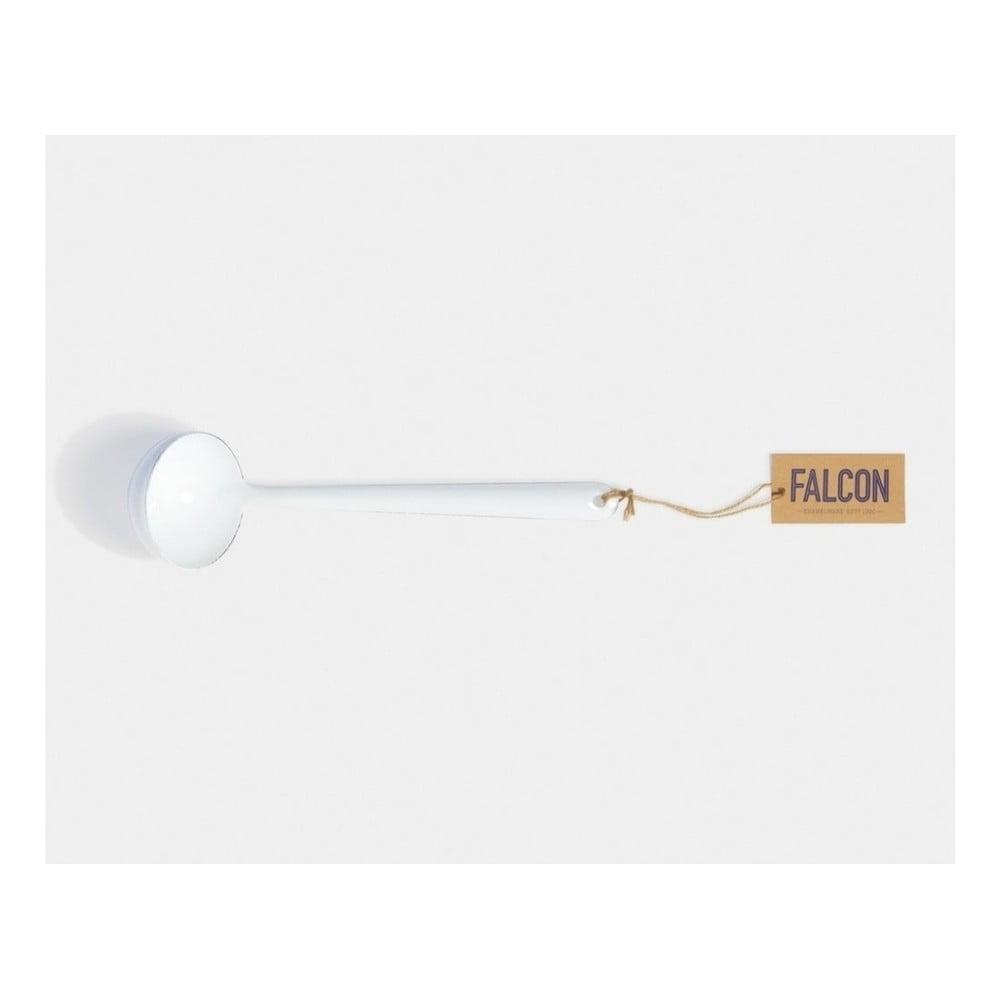 Bílá smaltovaná naběračka Falcon Enamelware