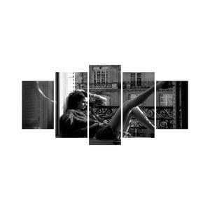 Vícedílný obraz Black&White no. 9, 100x50 cm