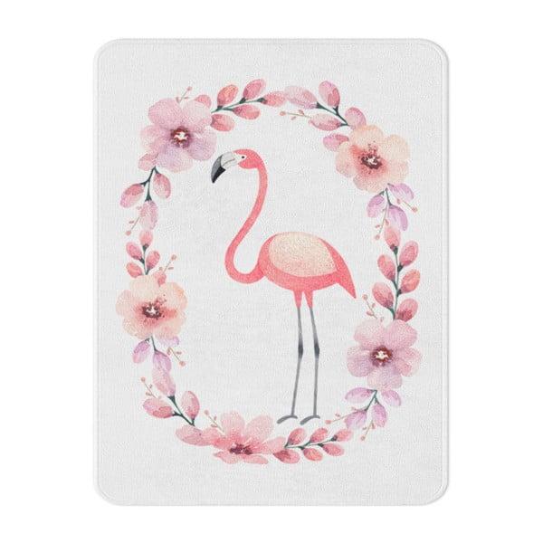Detský koberec OYO Kids Flower Ring Flamingo, 100 x 140 cm