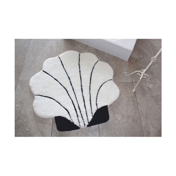 Alessia Shell Ecru fürdőszobai kilépő, Ø 90 cm