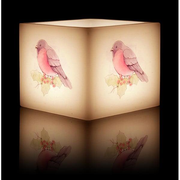 Svícen na čajovou svíčku Bird