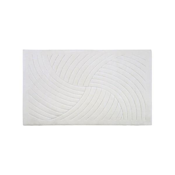 Koberec Waves 80x300 cm, krémový