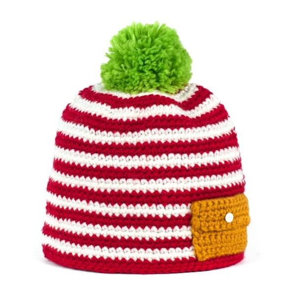 Červená čepice Jolly