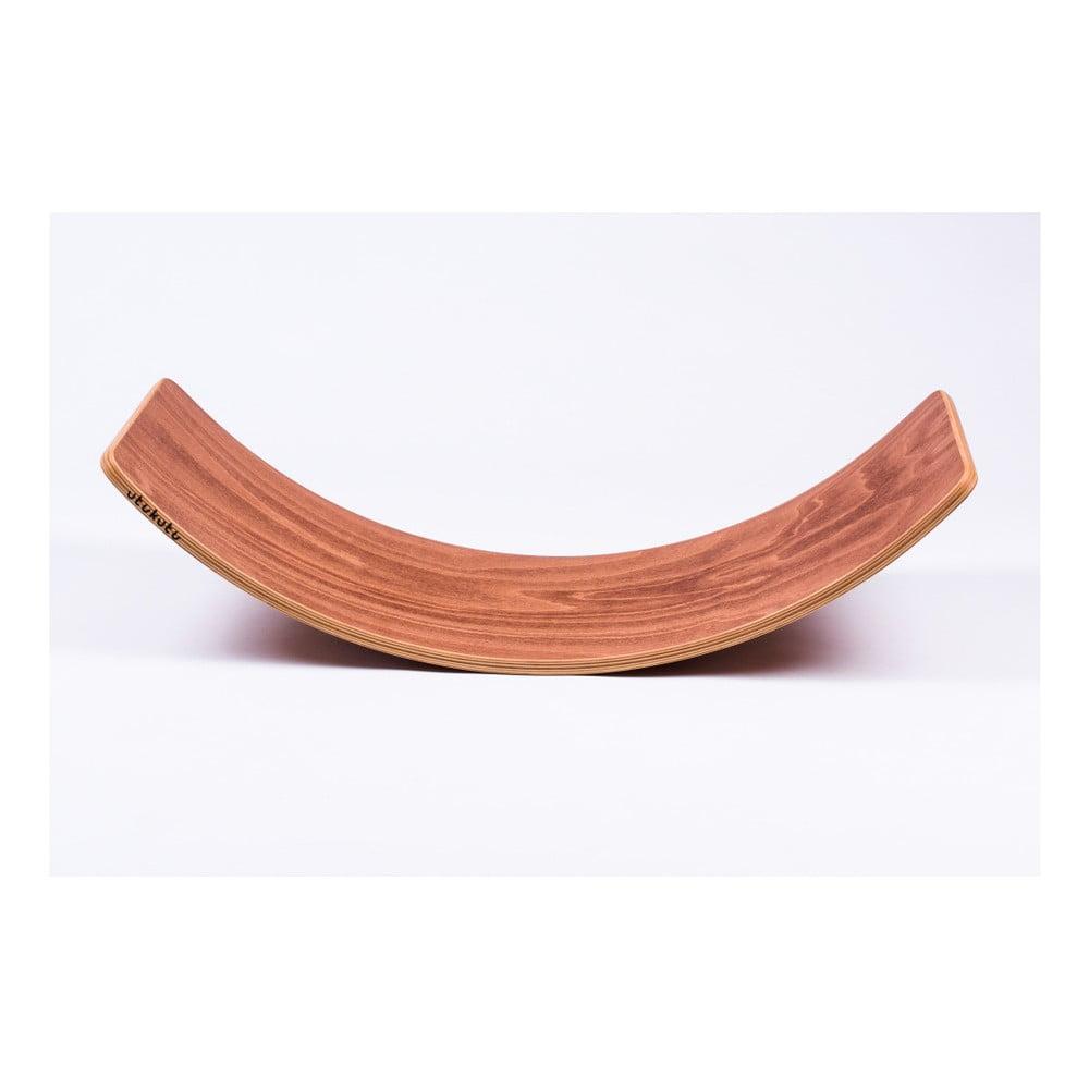 Hnědé bukové houpací prkno Utukutu, délka82cm