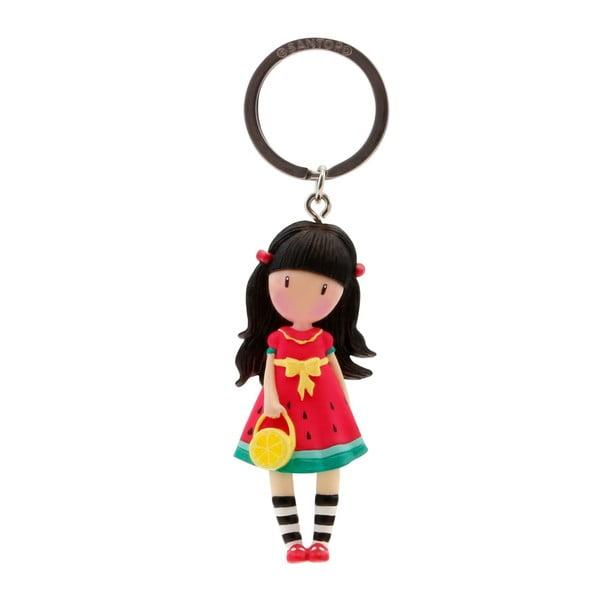 Kľúčenka v tvare bábiky Gorjuss Every Summer has a Story