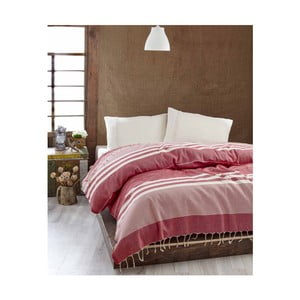 Lehký přehoz přes postel Hereke Red, 200x235 cm