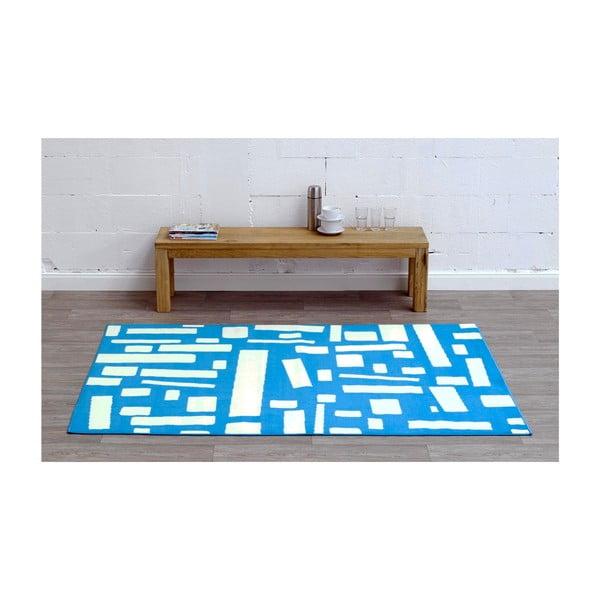 Modrý koberec Schweden, 160x225 cm