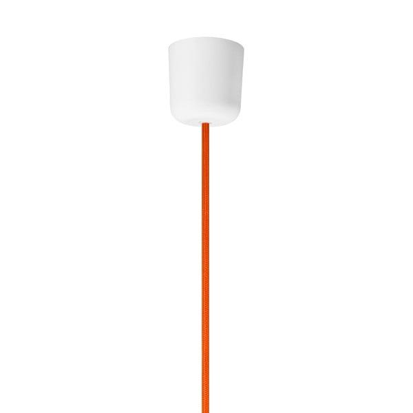 Oranžové lesklé závěsné svítidlo Sotto Luce MYOO