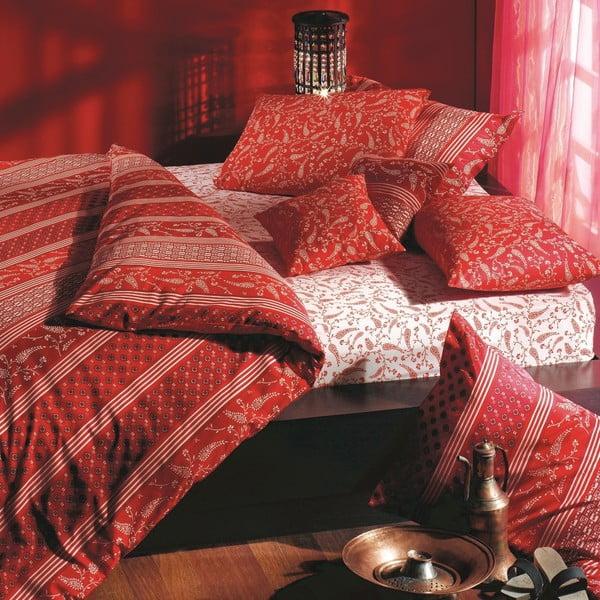 Povlečení s prostěradlem Red Harem, 200x220 cm