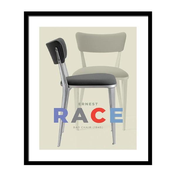 Plakát v černém rámu Design Icon No.2