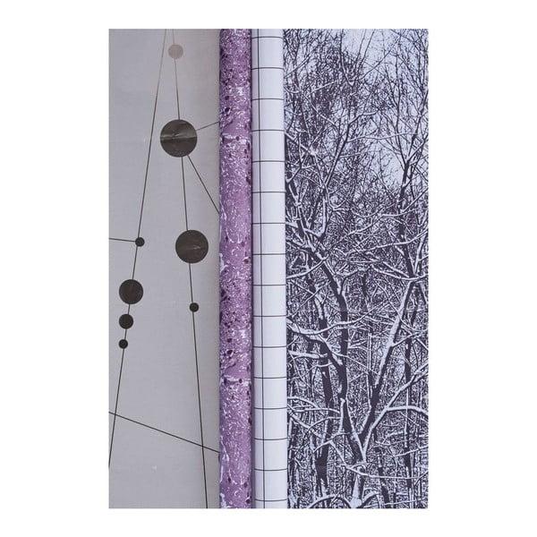 Sada 2 rolí balicího papíru Seasons vol. 1, 0,7x5 m