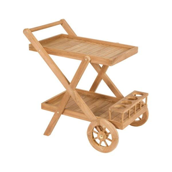 Stolik do serwowania z drewna tekowego Santiago Pons Troll