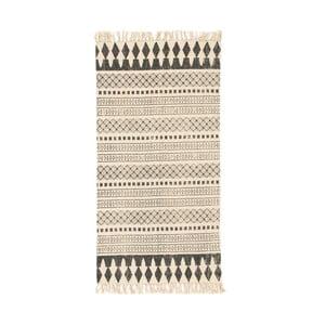 Hnědý koberec Cotex Masivo, 70 x 140 cm
