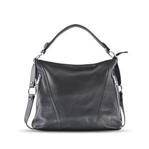 Kožená kabelka Anne, černá
