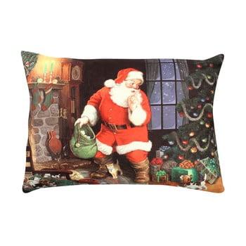 Pernă Christmas Santa Shhh, 33×48 cm de la Gravel