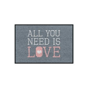 Rohožka/koberec All You Need Is Love, 75x50 cm