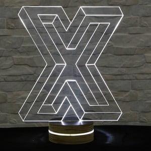 3D stolní lampa Big X