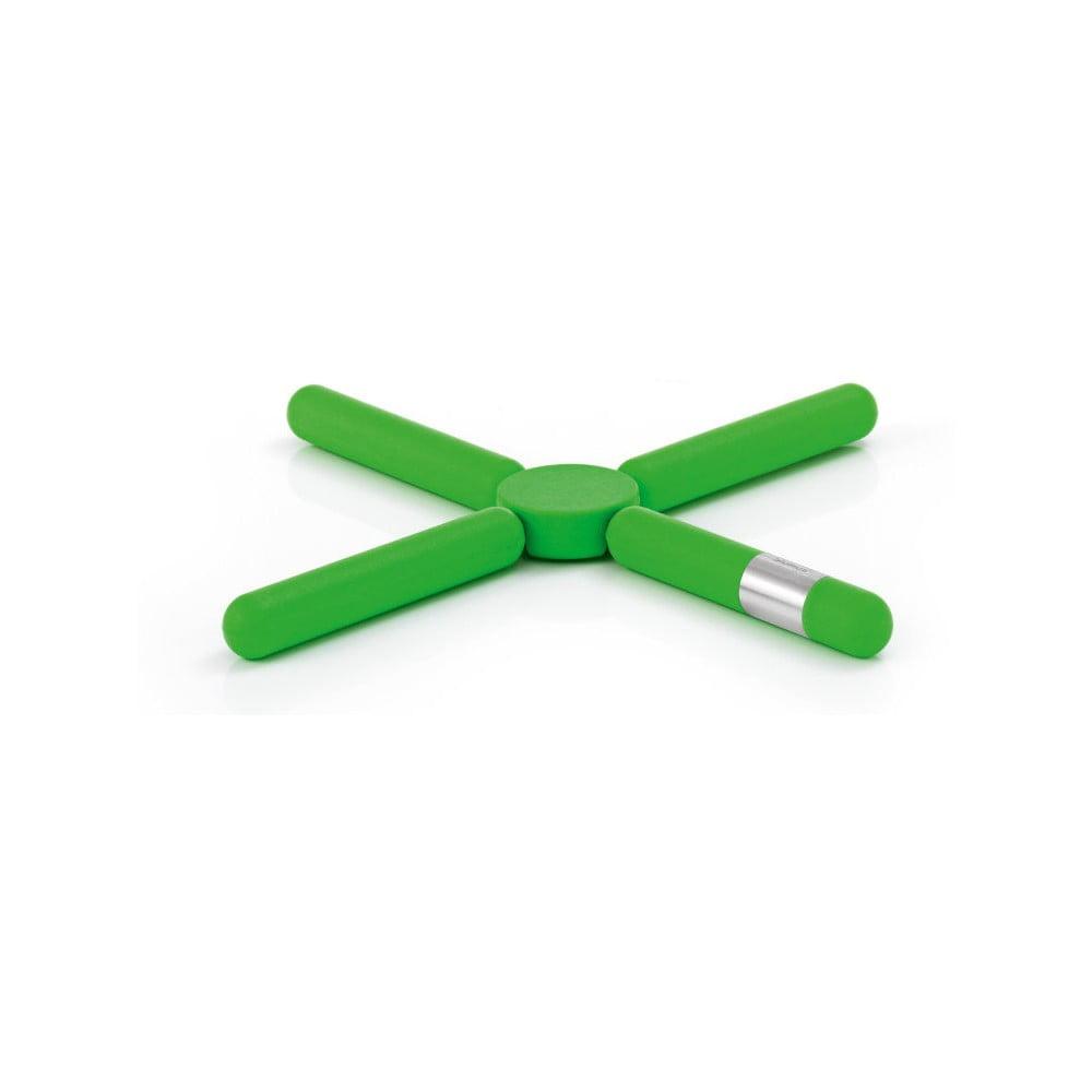 Zelená skládací podložka pod horké nádoby Blomus Knik