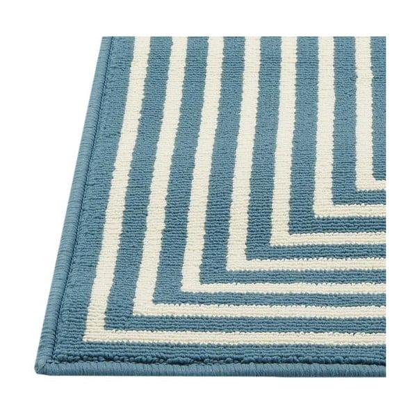 Světle modrý vysoce odolný koberec vhodný do exteriéru Webtappeti Braid, 200x285cm