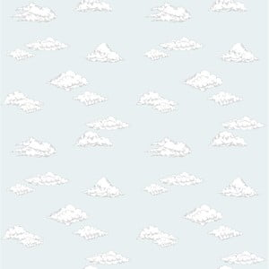 Tapeta na zeď Dekornik Clouds Blue, 50x280cm