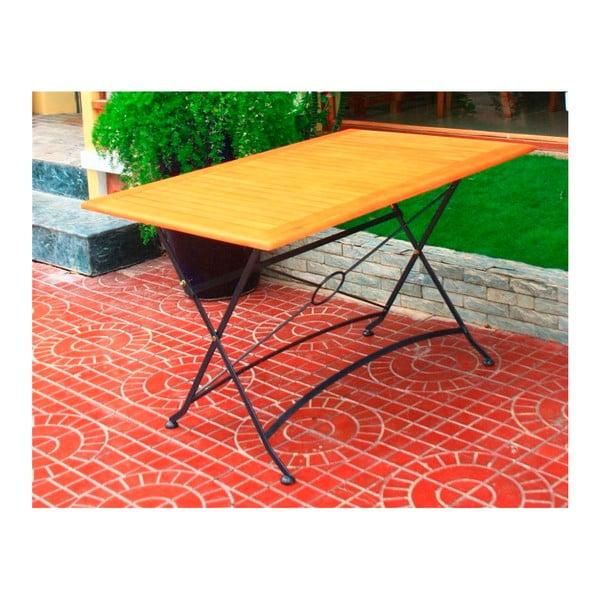 Zahradní skládací stůl z eukalyptového dřeva ADDU Vienna, délka120cm