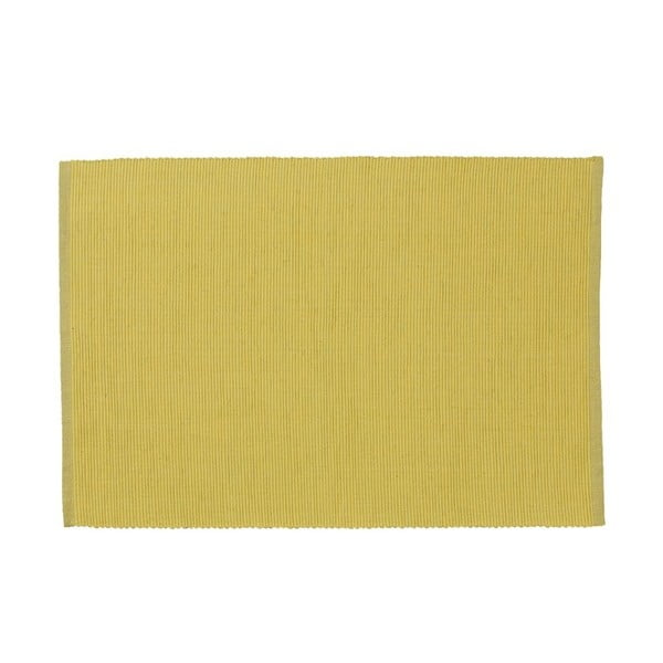 Sada 4 prostírání Drill Yellow