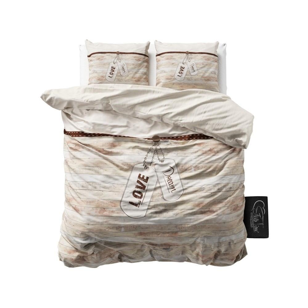 Bavlněné povlečení Dreamhouse Cool Love, 160 x 200 cm