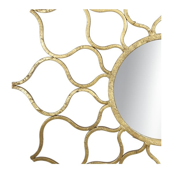 Nástěnné zrcadlo Ixia Sun, průměr72,5cm