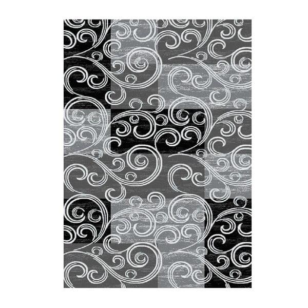 Koberec Toscana Black, 80x150 cm