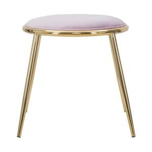 Světle růžová stolička Mauro Ferretti Emily, ⌀ 45 cm