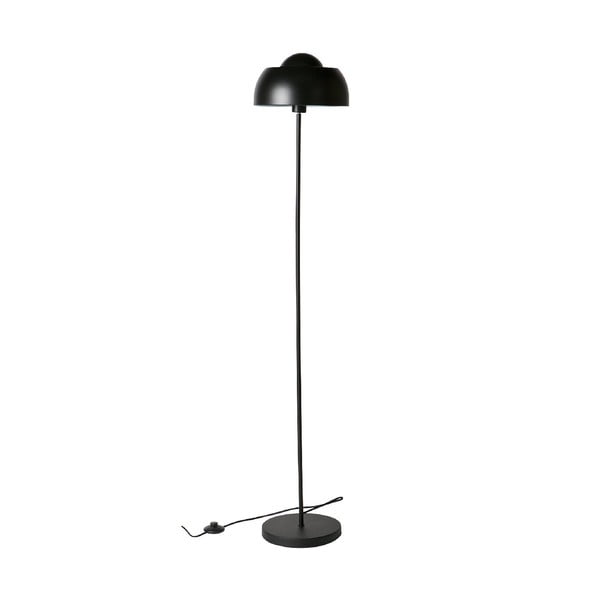 Čierna stojacia lampa WOOOD Yvette