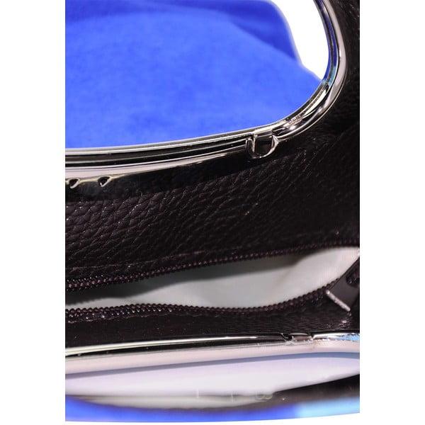 Kožená kabelka Pamela Blue & Light Blue