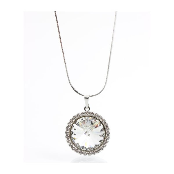 Náhrdelník Swarovski Ring Crystal, 45 cm
