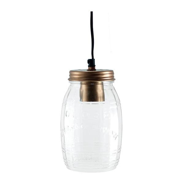 Stropní světlo Glass Jar Copper