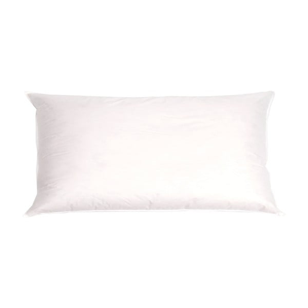 Poduszka z bawełny i satyny z puchem Casa Di Bassi 550 g, 40x60 cm