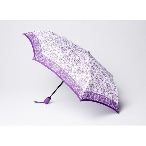 Skládací deštník Damask, fialový