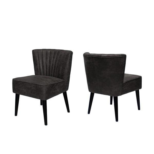 Židle Canett Winston Armchair, tmavá