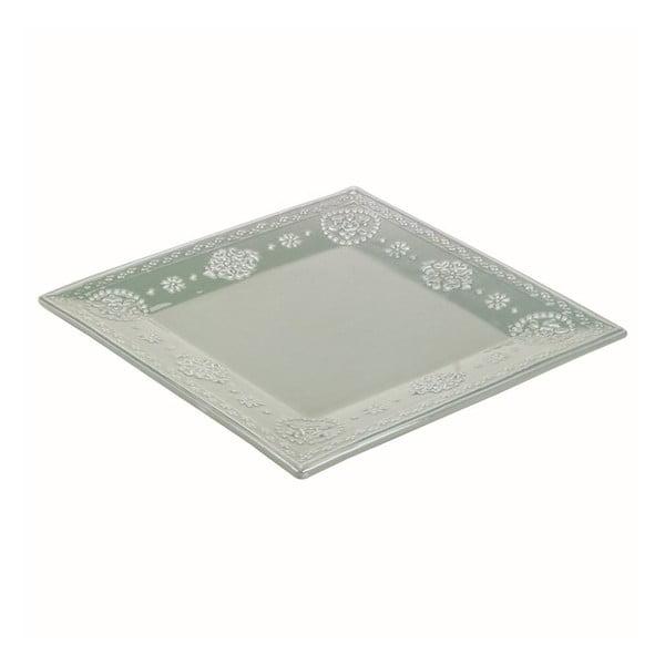 Keramický talíř Light Green, 32 cm