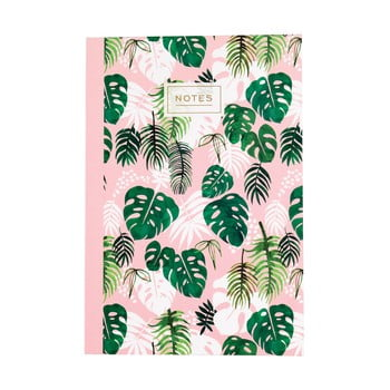 Agendă Rex London Tropical Palm, format A5 de la Rex London