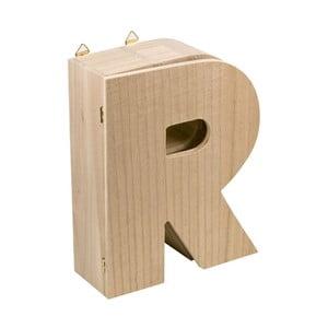 Nástěnný box Letter R
