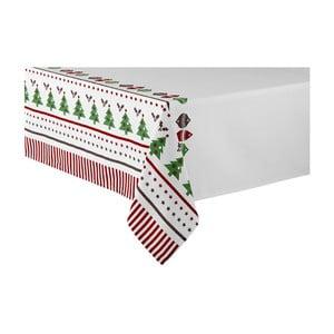 Ubrus s vánočním motivem Ladelle Very Merry, 265x150cm