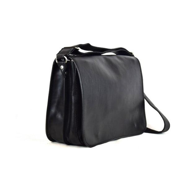 Kožená taška Santo Croce 8809 Black