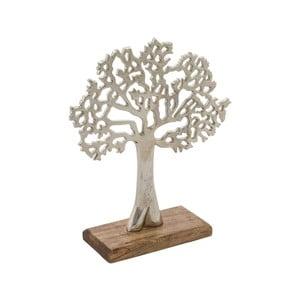 Dekorace s dřevěným podstavcem Ego Dekor Tree Life, výška 17,5 cm