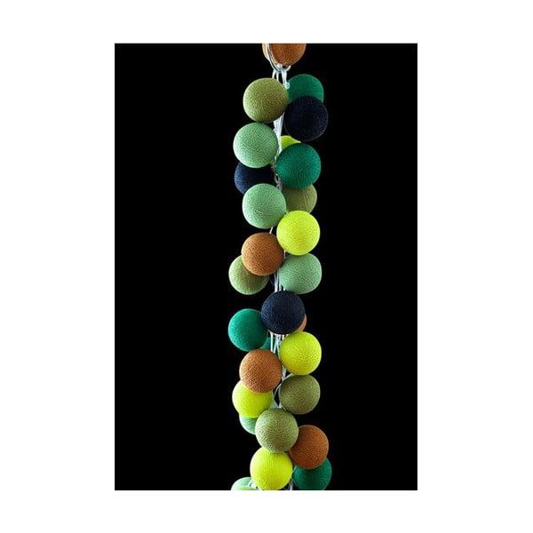 Světelný řetěz Wasabi, 20 ks světýlek