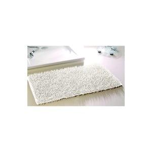 Koupelnová předložka Metallic Look White, 50x70 cm