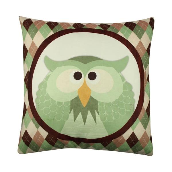 Polštář Owl No. 1, 43x43 cm