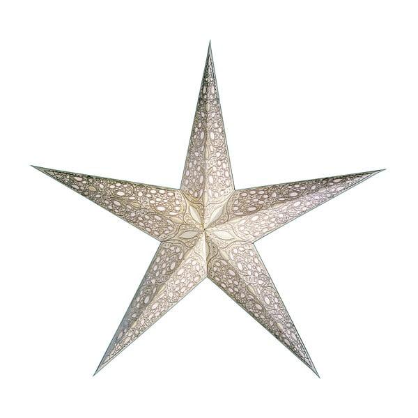 Dekorativní hvězda Maharaja White, 85 cm