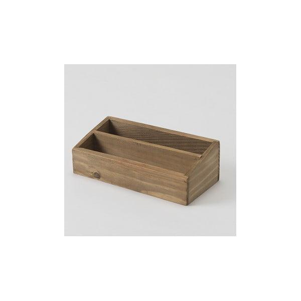 Úložný box z jedľového dreva Compactor Vintage, šírka 18,5 cm